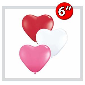 """Heart Assortment  6"""" 心形 - Love , *QL06HS47949(3)"""