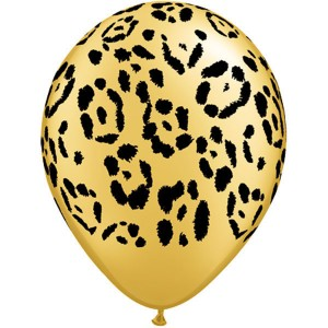 "11"" Leopard Sports - Gold (50ct) , *QL11RI55478"