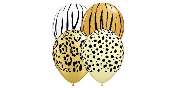 """5"""" Safari Ast'm - Cheetah Spots, Tiger Stripes, Zebra Stripes & Leopard Sports - *QL05RI87144"""