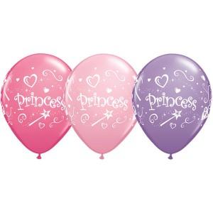 "11"" Special Assorted Princess (TW) - Pink, Rose, & Spring Lilac (50ct) , QL11RI76815 (0)"