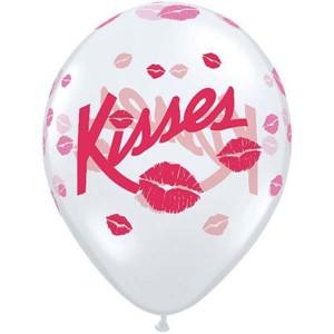 """11"""" Kisses (50ct) , *QL11RI37117"""