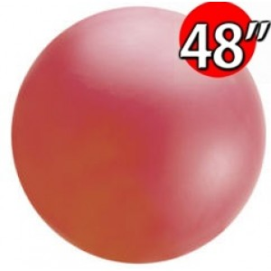 "48"" (4') Chloroprene / Red  - Giant Cloudbuster Balloon , *QL48RS91212"