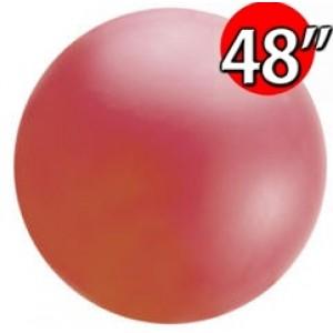 "48"" (4') Chloroprene / Red  - Giant Cloudbuster Balloon, QL48RS91212 (0)"