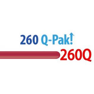 260Q Maroon【Q-Pak】(50ct) , QL260FQ57213 (QP4_0)