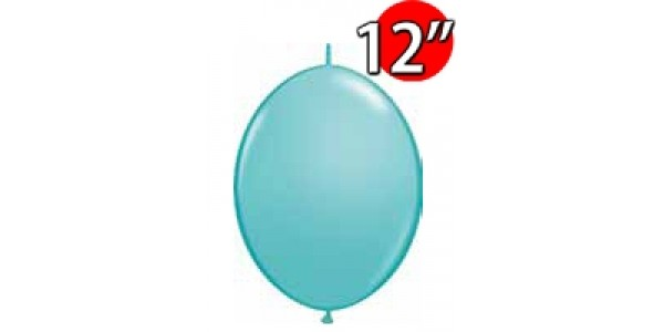 "QuickLink 12"" 尾巴球 Caribbean Blue (50ct) , QL12LF65229 (3)"
