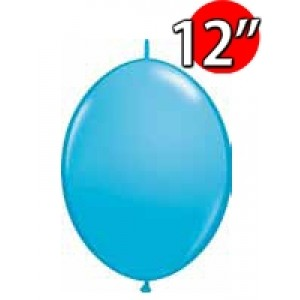 "QuickLink 12"" 尾巴球 Robin's Egg Blue (50ct) , QL12LF65274 (0)"