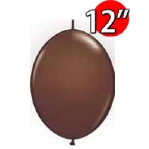 "QuickLink 12"" 尾巴球 Chocolate Brown (50ct) , QL12LF65332 (3)"