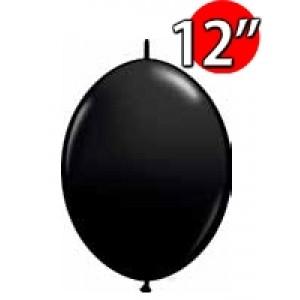 "QuickLink 12"" 尾巴球 OnyxBlack (50ct) , QL12LJ65216 (2)"