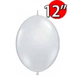 "QuickLink 12"" 尾巴球 Diamond Clear (50ct) , QL12LJ65273 (3)"