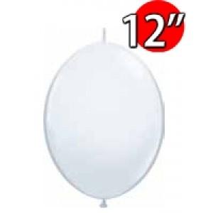 """QuickLink 12"""" 尾巴球 Std White (50ct) , QL12LS64151 (1)"""