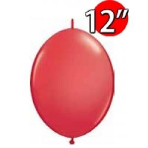 """QuickLink 12"""" 尾巴球 Std Red (50ct) , QL12LS65213 (1)"""