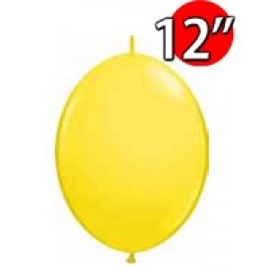 "QuickLink 12"" 尾巴球 Std Yellow (50ct) , QL12LS65214 (2)"