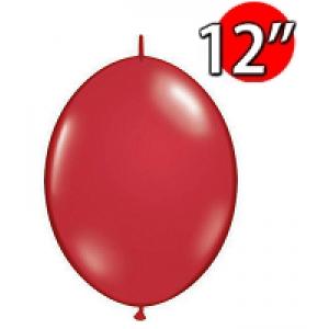 "QuickLink 12"" 尾巴球 Ruby Red (50ct) , QL12LJ65247 (0)"