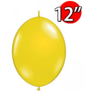 "QuickLink 12"" 尾巴球 Citrine Yellow (50ct) , QL12LJ65264 (3)"