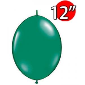 "QuickLink 12"" 尾巴球 Emerald Green (50ct) , QL12LJ65271 (4)"