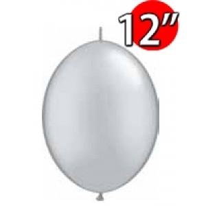 """QuickLink 12"""" 尾巴球 Silver (50ct) , QL12LP65243 (0)"""