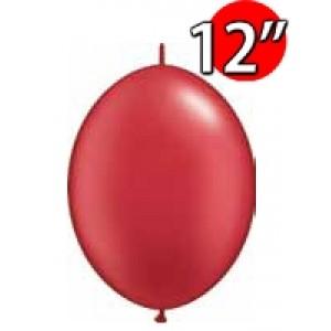 "QuickLink 12"" 尾巴球 Pearl Ruby Red (50ct) , QL12LP65291 (3)"