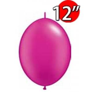 """QuickLink 12"""" 尾巴球 Pearl Magenta (50ct) , QL12LP65338 (3)"""