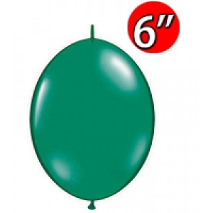 "QuickLink  6"" 尾巴球 Emerald Green (50ct) , QL06LJ90377 (4)"