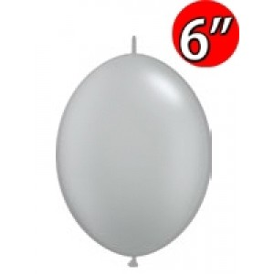 "QuickLink  6"" 尾巴球 Gray (50ct) , QL06LF44568 (2)"