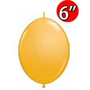 "QuickLink 6"" 尾巴球 Goldenrod (50ct) , QL06LF90264 (3)"