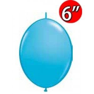 "QuickLink  6"" 尾巴球 Robin's Egg Blue (50ct) , QL06LF90424 (2)"