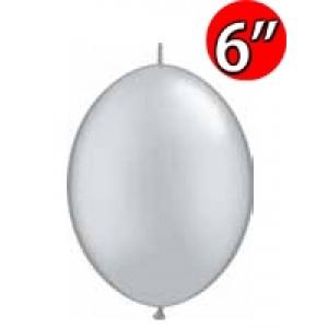 """QuickLink 6"""" 尾巴球 Silver (50ct) , QL06LP90266 (3)"""