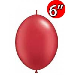 "QuickLink 6"" 尾巴球 Pearl Ruby Red (50ct) , QL06LP90476 (3)"