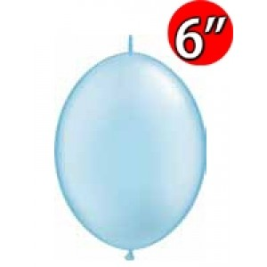 "QuickLink  6"" 尾巴球 Pearl Light Blue (50ct) , QL06LP90493 (3)"