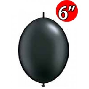 "QuickLink 6"" 尾巴球 Pearl Onyx Black (50ct) , QL06LP90538 (0)"