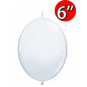 "QuickLink  6"" 尾巴球 Std White (50ct) , QL06LS90172 (1)"