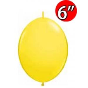 "QuickLink 6"" 尾巴球 Std Yellow (50ct) , QL06LS90174 (2)"