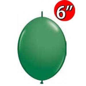 "QuickLink  6"" 尾巴球 Std Green (50ct) , QL06LS90198 (1)"