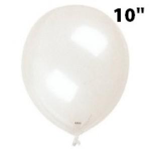 """SAG - 4/B.R Balloon 10"""" (25cm) not clear Transparent  , *SAG-F2367"""
