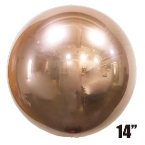 "SAG - 4/B Balloon 14"" (36cm) Rose Gold #2494 , SAG-F2494"