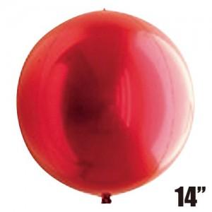 "SAG - 4/B Balloon 14"" (36cm) Red #2311 For Helium , **SAG-F2311"