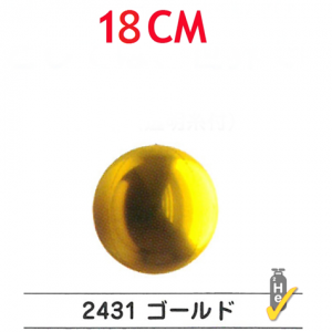 "SAG - Gold 4/B Balloon  7"" (18cm) For Helium , **SAG-F2431"