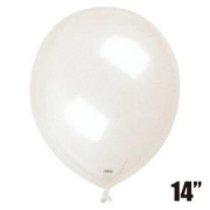 """SAG - 4/B.R Balloon 14"""" (35cm) Transparent  , SAG-F2359"""