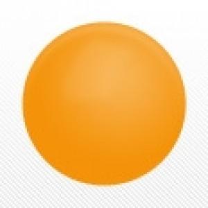"""SAG - PVC Ball  9 cm (4"""") Orange , *SAG-D6118"""