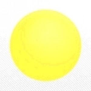 "SAG - PVC Ball 30 cm (14"") Light Yellow , *SAG-D6512"