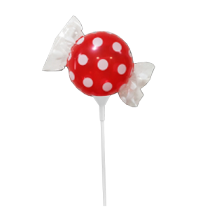 "SAG - Fruit Candy mini  8"" 果汁糖 Strawberry (with stick) , SAG-C1487 <Air #A>"