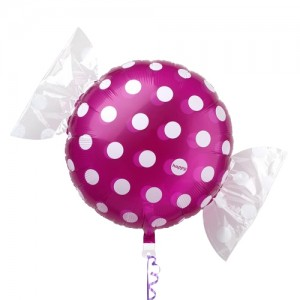 "SAG - Fruit Candy 18"" 果汁糖 Grape , SAG-C2448 <Helium #B>"