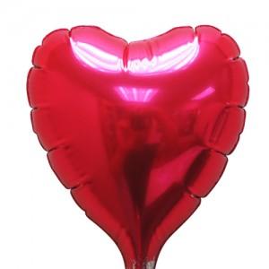 """SAG - Foil 2.5"""" (62mm) Red / Heart with Stick , CJB-TKR01422"""