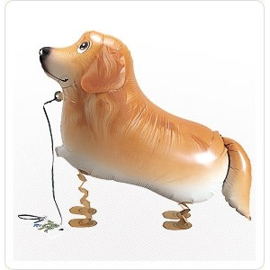 SAG Walking Balloon - Golden Retriever 金毛尋回犬 , *SAG-W2236 <Helium #F>