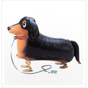 SAG Walking Balloon - Miniature Duchshund 臘腸狗 , SAG-W2243 <Helium #F>