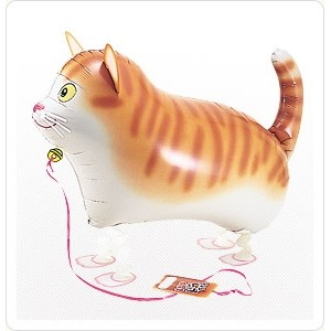 SAG Walking Balloon - Cat 小花貓 , SAG-W2245 <Helium #F>