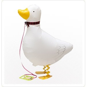 SAG Walking Balloon - Duck 小白鴨 , *SAG-W2253 <Helium #F>