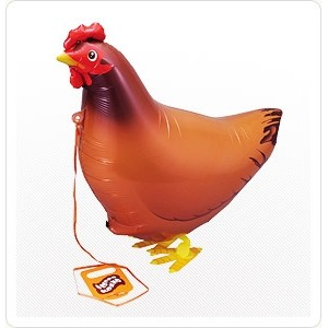 SAG Walking Balloon - Chicken 小母雞 , SAG-W2319 <Helium #F>
