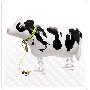 SAG Walking Balloon - Cow 瑞士牛 , *SAG-W2335 <Helium #F>