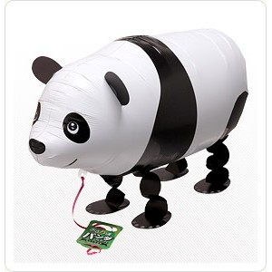 SAG Walking Balloon - Panda 小熊貓 , *SAG-W2340 <Helium #F>